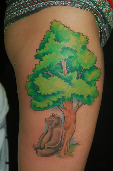 Shawn Hebrank - Tree and Bear