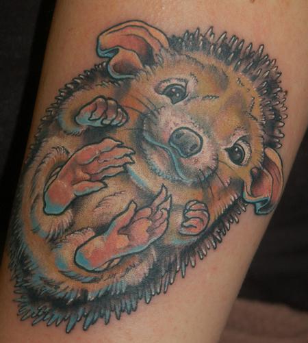 еж татуировка