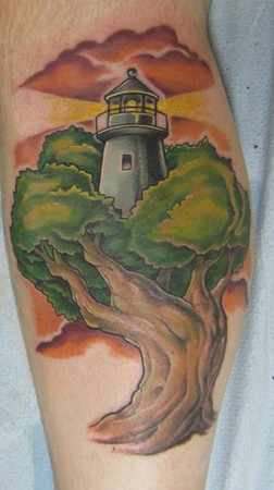 Shawn Hebrank - Lighthouse in the tree,