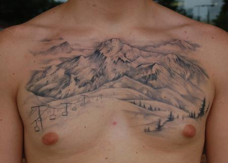 Shawn Hebrank - Mountain Chest