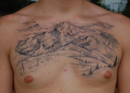 Tribal Mountain Tattoo Tribal Mountain Tattoo Designs
