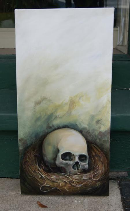 Shawn Hebrank - Skull Basket