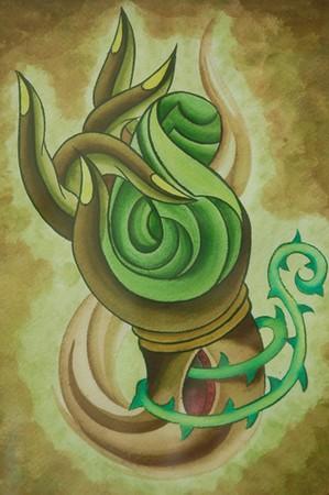 Tattoos - Tibetan Hand - 39763