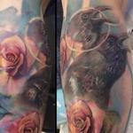 Jason Butcher and Lianne Moule Collaboration Tattoo Design Thumbnail