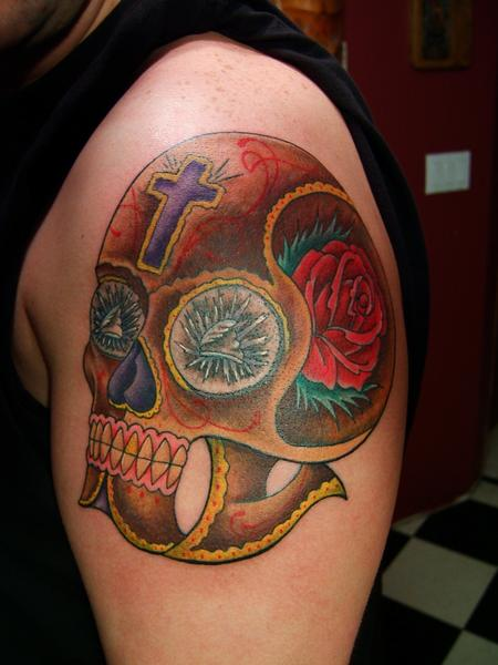 Tim MacNamara - Day of the dead skull