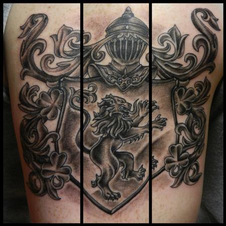 Tim MacNamara - Family coat of arms