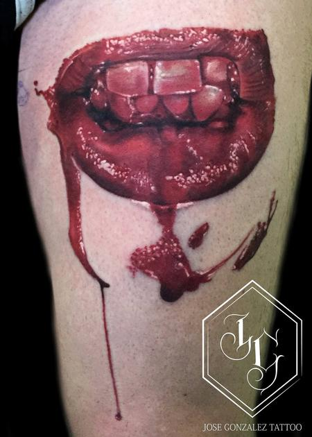 Tattoos - Bloody Mouth - 99171