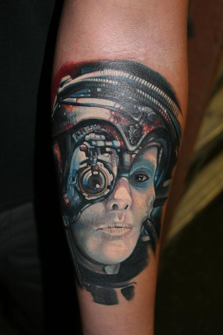 Tattoos - Borg drone - 69492