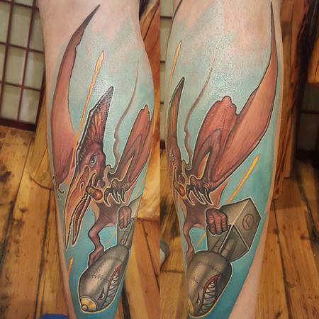 Terrorsaur Tattoo Design Thumbnail