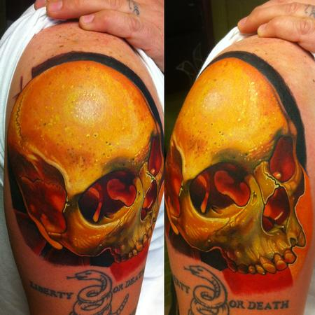 Tattoos - Illuminated Skull - 93553