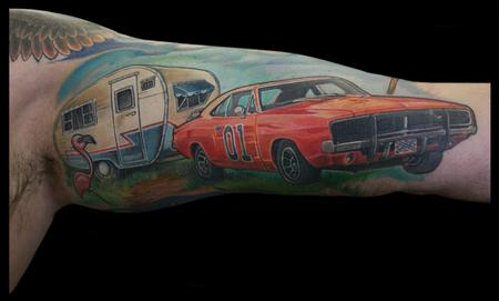 Tattoos - General Lee inspired Tattoo! - 86548