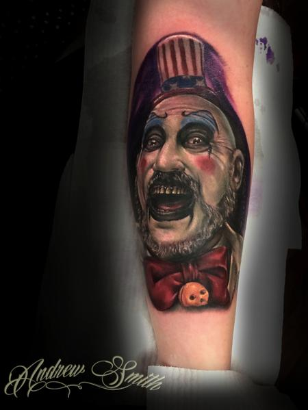 captain spaulding Tattoo Design Thumbnail
