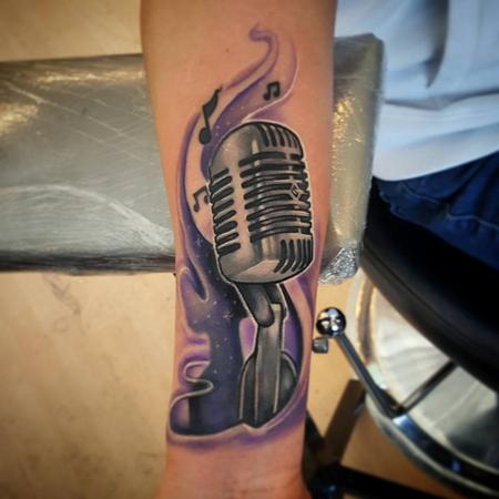 Tattoos - Microphone - 130228