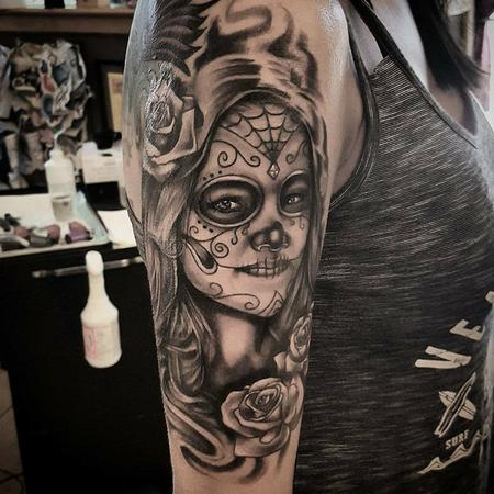 Tattoos - Black and Grey - 130239
