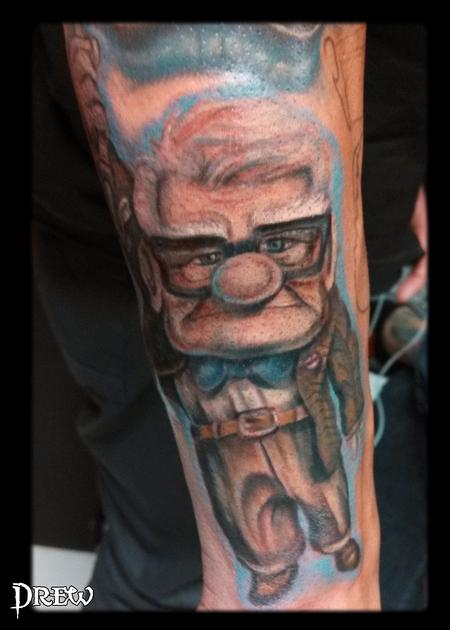 Tattoos - Carl from Up! - 94688