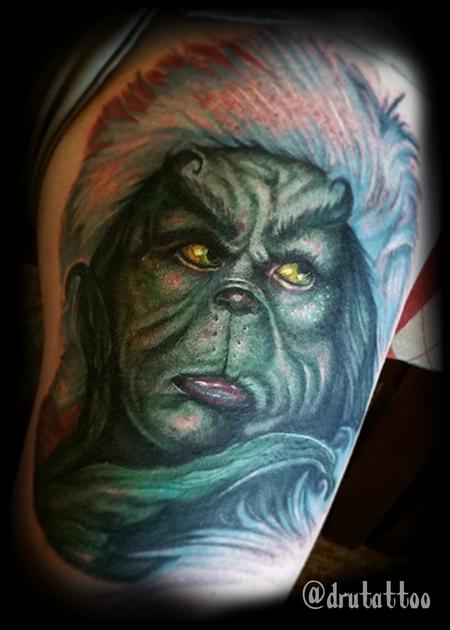 Tattoos - The Grinch - 125678