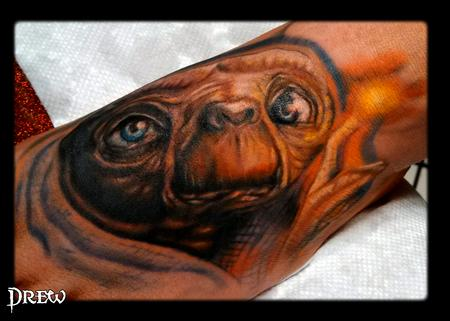 Tattoos - E.T. foot ouch! - 94686