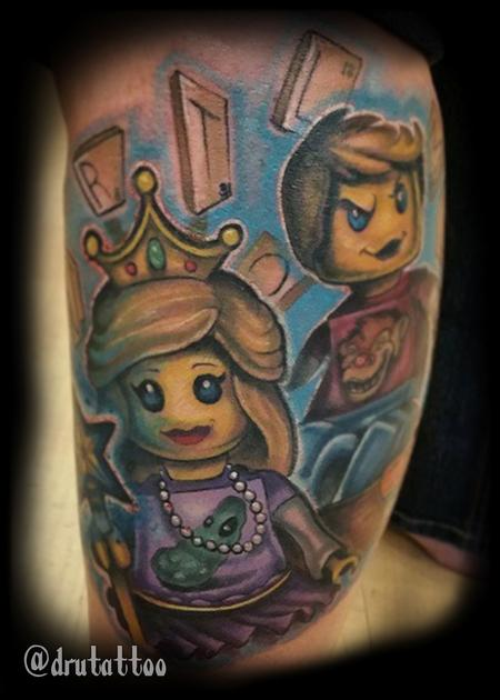 Tattoos - Lego Kids - 126042
