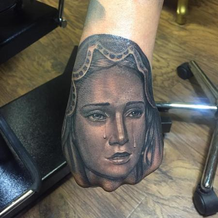 Virgin Mary Hand