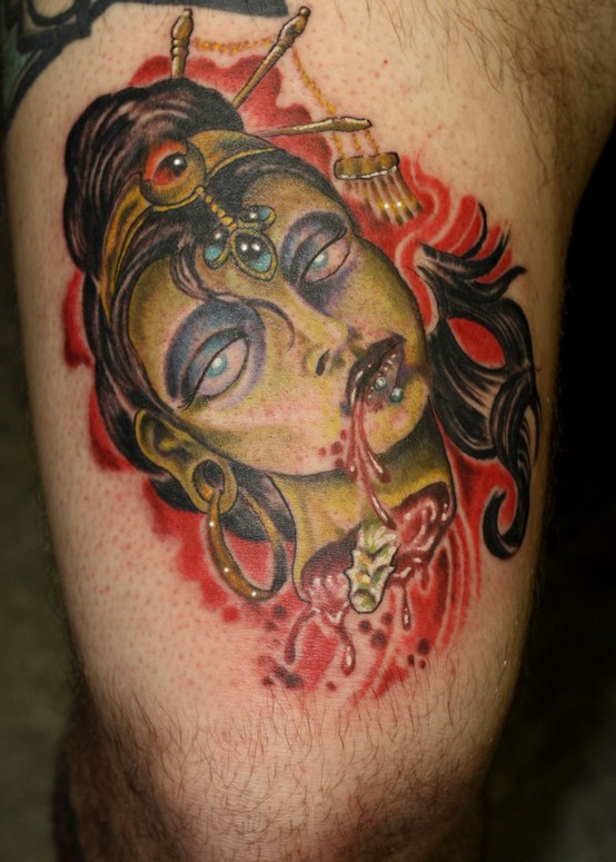 Concubine Suh Sice By Aarom Hemmersbach Tattoonow