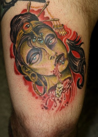 Christian Tattoo Artists Winnipeg Concubine Suh Sice By