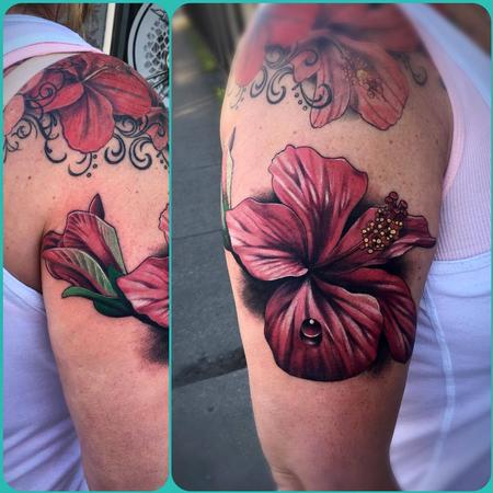 Color realism flower Design Thumbnail