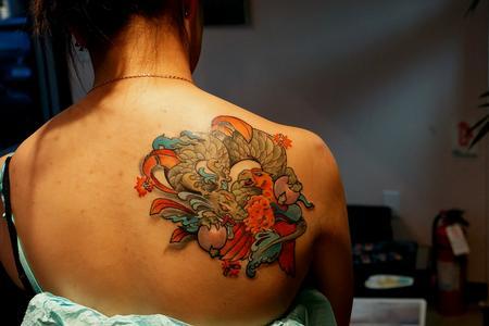 Tattoos - Dragon vs Phoenix - 71277