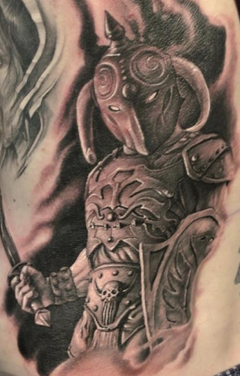Tattoos - Warrior - 76303