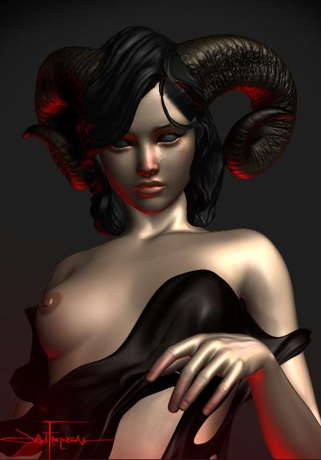 Jason Frieling - Horned Girl