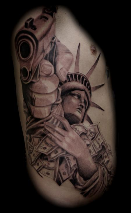 Statue of Liberty Tattoo Design Thumbnail