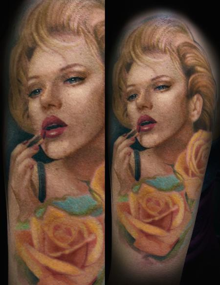 Tattoos - Marilyn Monroe - 100640