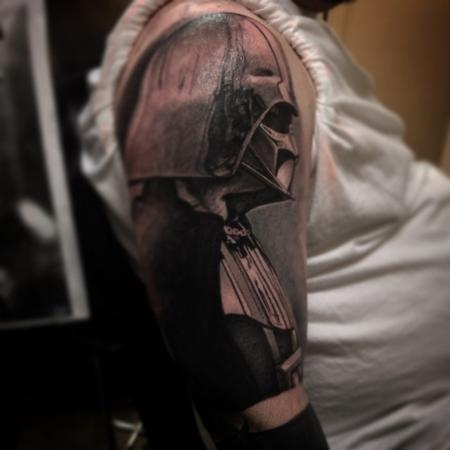 Darth Vader Tattoo Design Thumbnail