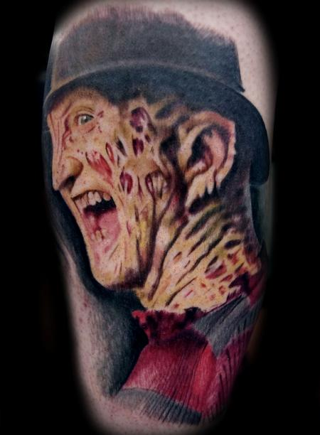 Tattoos - FREDDY KRUEGER  - 104368