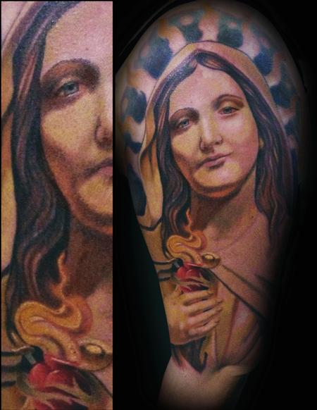 Tattoos - Virgin Mary - 100642