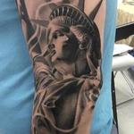Lady liberty Tattoo Design Thumbnail
