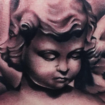 cherub angel Tattoo Design Thumbnail