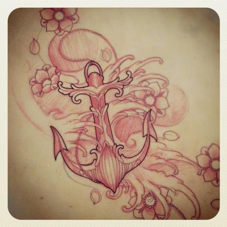 Tattoos - Anchor  - 79519