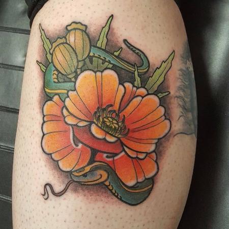Tattoos - Flower Tattoo - 129497