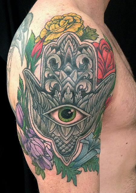 Jeff Johnson - Michaels Bird Hamsa Tattoo
