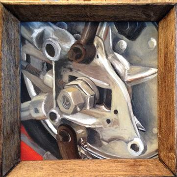 Jeff Johnson - Axle Plate Painting