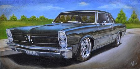 Jeff Johnson - 1965 Pontiac Le Mans Painting