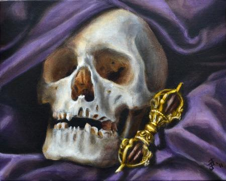 Jeff Johnson - Skull and Vajra