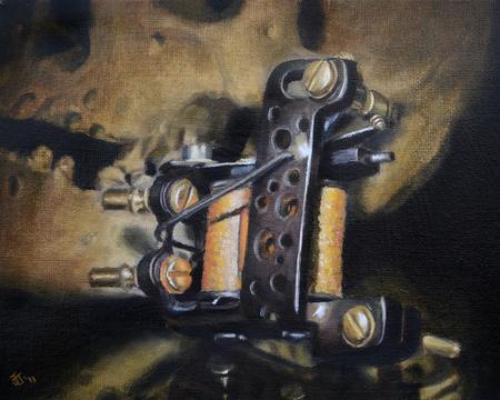 Jeff Johnson - Skull Tattoo Machine