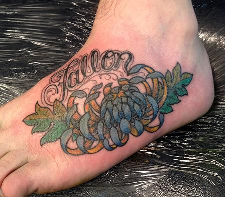 Jeff Johnson - Zumps Chrysanthemum Tattoo