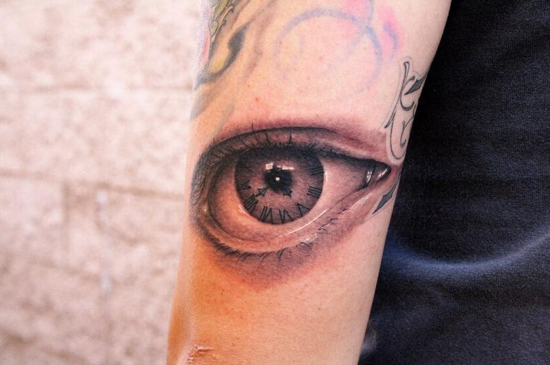 Squid Eye Tattoo