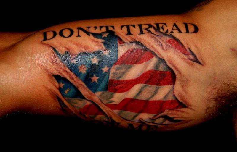 dont tread on me by jeff norton tattoos. Black Bedroom Furniture Sets. Home Design Ideas
