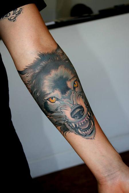 Tattoos - Wolf  - 91529