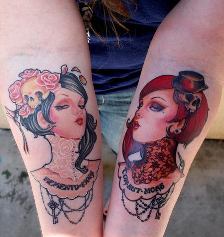 Tattoos - Original artwork by Glenn Arthur - 78412
