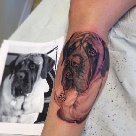 Tattoos - Dog portrait  - 89993