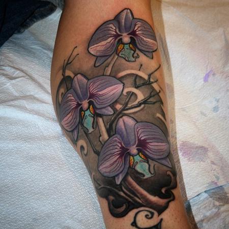Tattoos - Orchid tattoo  - 97672